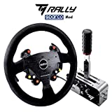 Thrustmaster Rally Race Gear - Addon Sparco R383 Mod + TSS Handbrake Sparco Mod plus, freno de mano progresivo y caja de cambios secuencial multiplataforma con licencia oficial de Sparco (Windows)