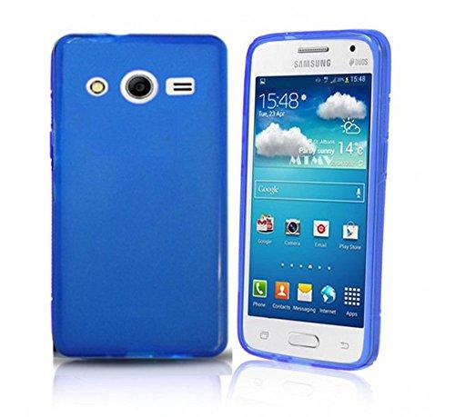 Todobarato24h Funda TPU Lisa Compatible con Samsung Galaxy Grand Neo Plus Azul