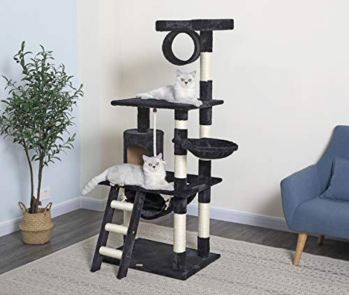 GO PET CLUB 62-INCH CAT TREE for declawed cat