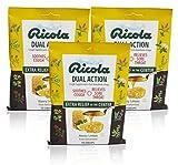 Best Cough Drops With Echinacea Honeies - Ricola Dual Action Honey Lemon Cough Drops, 19ct Review