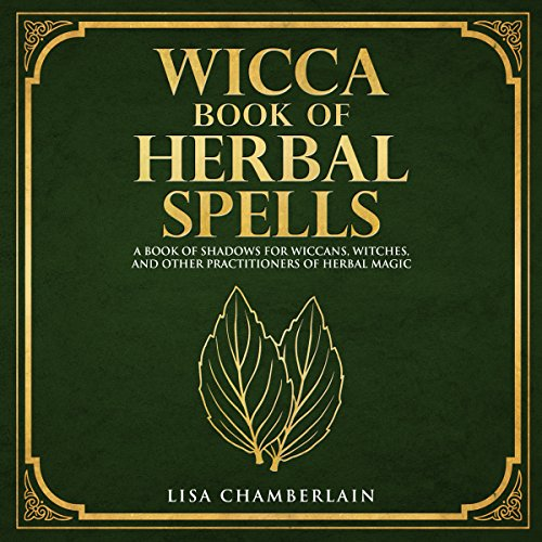 Wicca Book of Herbal Spells audiobook cover art