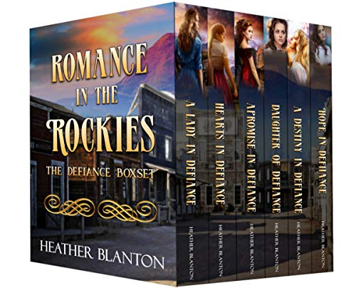 Romance in the Rockies Books 1 - 6: Inspirational Historical Western Romances - The Complete Collection by [Heather Blanton]