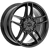 Motiv 434B 16x7.5 5x100/5x4.5' +40mm Gloss Black Wheel Rim 16' Inch