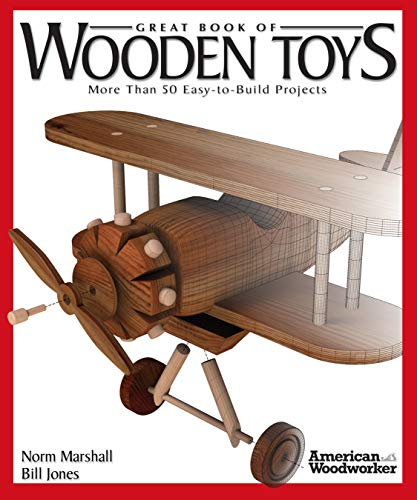 Compare Textbook Prices for Great Book of Wooden Toys: More Than 50 Easy-To-Build Projects American Woodworker Fox Chapel Publishing Step-by-Step Instructions, Diagrams, Templates, and Finishing & Detailing Tips First Edition ISBN 0858924001340 by Marshall, Norman
