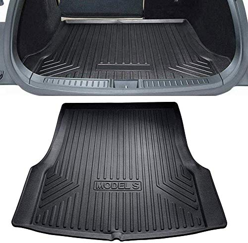 ZYLFP Boot Trunk Mats For Tesla Model S, Rubber Non-Slip Dust-Proof Floor Mats Car Accessories