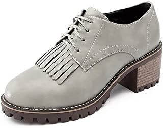 BalaMasa Womens APL12329 Fashion Low-Top Travel Brown Pu Heeled Sandals - 4.5 UK (Lable:38)