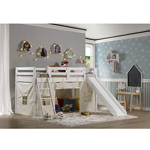 Cama Infantil Prime com Escorregador e Tenda - Casatema