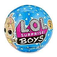 L.O.L. Surprise Boys – 7 Surprise Ball including 1 Boy Doll 8 cm, Accessories, Surprise Water Functi...