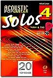 Acoustic Pop Guitar Solos 4 D884 9783868493306 Livre de partitions avec CD et médiator