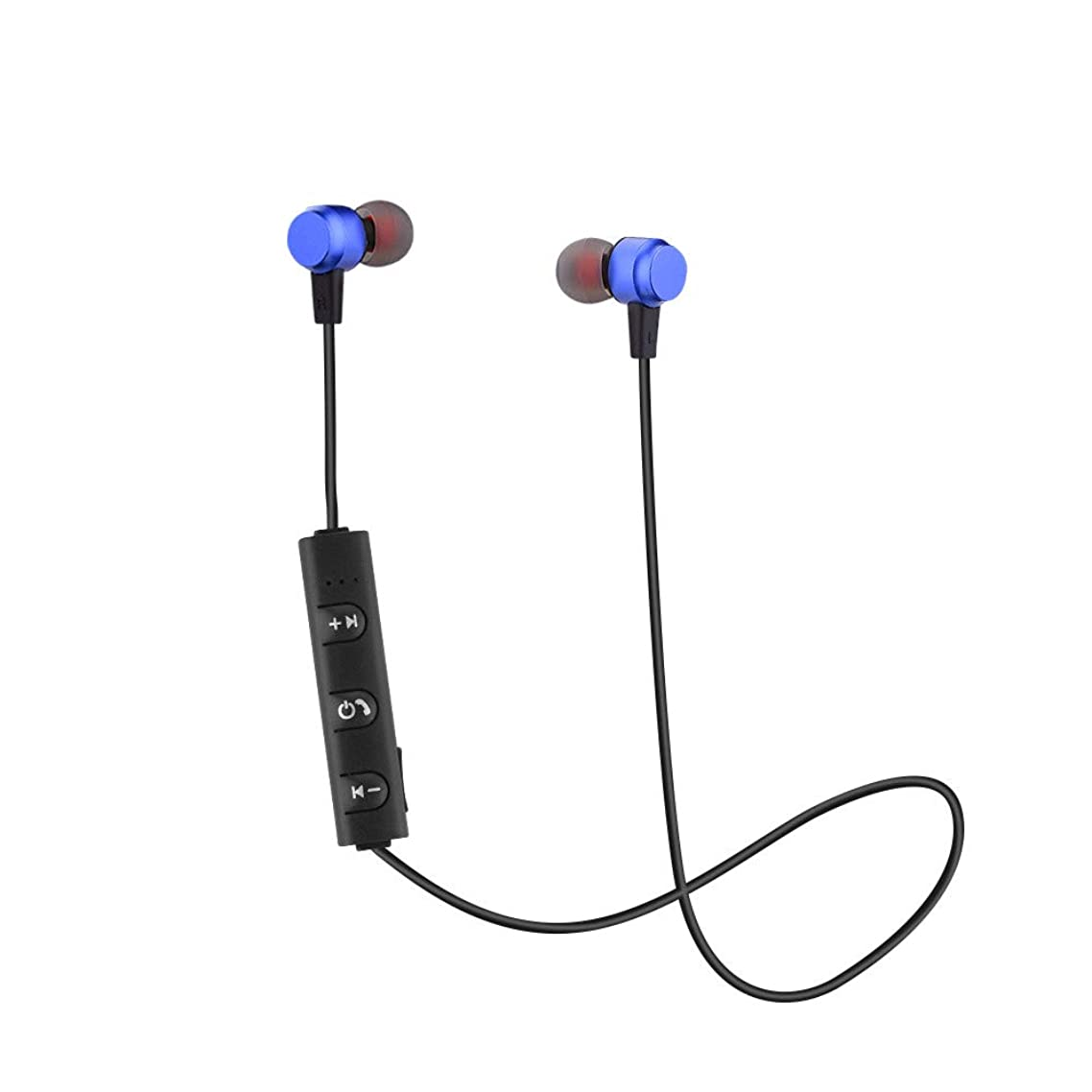 Sodoop Portable and Small Wireless Bluetooth Headset Sport Stereo Headphone Earphone for Smartphone (Blue)