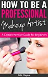 amazon picture of book called how to be a professional makeup artist