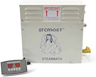 6kw 220v Steam Generator Sauna Bath Steamer for Home SPA Shower with Digital Controller Temperature and Timing