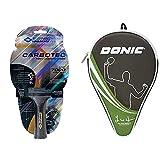 Donic-Schildkröt Raqueta de Tenis de Mesa CarboTec 7000, 10