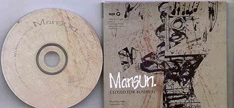 MANSUN - CLOSED FOR BUSINESS - CD (not vinyl)
