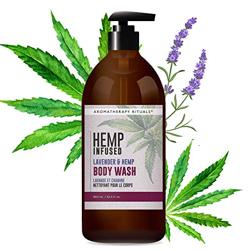 aromatherapy Rituals Infused Body Wash, Hemp and Lavender, 32.5 Fl Oz