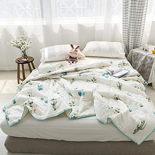 XNSY Duvet Skin-friendly summer quilts are machine-washed by children's cotton quilts-200X230cm_A