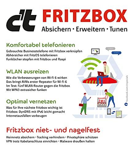 c't Fritzbox: Absichern • Erweitern • Tunen
