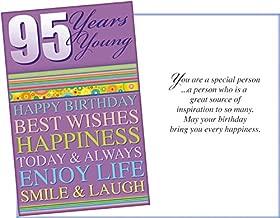 Prime Greetings Happy 95th Birthday Greeting Card