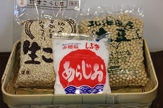 手作り  玄米味噌キット 約5キロ出来上がり 【容器なし】