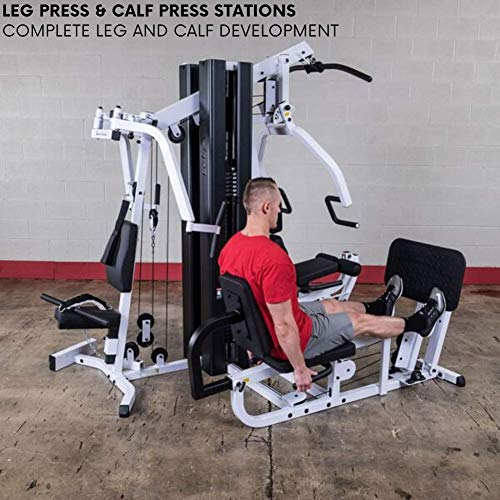 Product Image 4: Body-Solid EXM3000LPS Multi-Station Selectorized Gym for Light Commercial and Home Gym