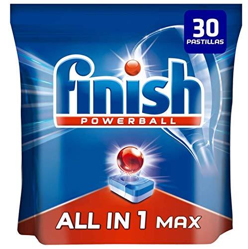 Finish Powerball All in 1 Max Pastillas para el lavavajillas todo en 1 - formato 30 unidades