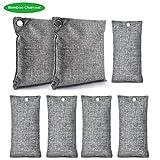 Natural Bamboo Charcoal Air Purifying Bag, Charcoal Odor Eliminators and Air Freshener Bags