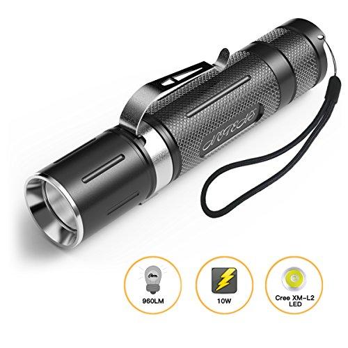 Mini LED Taschenlampe, NOTENS Taschenlampe Outdoor Lampe Clip Mini Penlight 3 Modi für Camping, Wandern, Radfahren, Notfall und Indoor (Mini LED Taschenlampe)