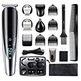 Best Bear Trimmers - Hatteker Mens Beard Trimmer Grooming kit Hair trimmer Review