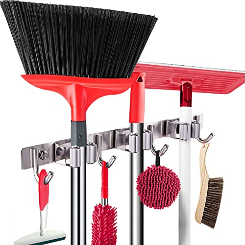 COUAH 1 Pack Broom Holder Wall M...