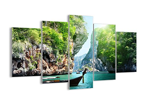 Cuadro sobre Vidrio - Cuadro de Cristal - 5 Piezas - 150x100cm - Foto número 2787 - Listo para Colgar - Pinturas en Vidrio - Impresiones sobre Vidrio - Cuadro en Vidrio - GEA150x100-2787