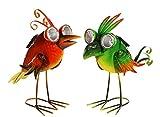 Ideal LED Solar Leuchte Paradiesvogel ca. 35 cm Solarleuchte Gartendekoration Garten