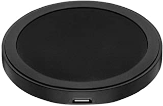 Qi Wireless Charger for Samsung, iPhone and Other Qi Certified Phones (Black)