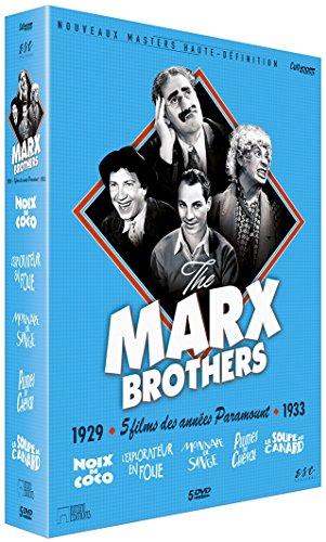 Marx Brothers - Coffret 5 Films [Francia] [DVD]