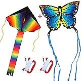 HONBO - Arco iris + mariposa azul