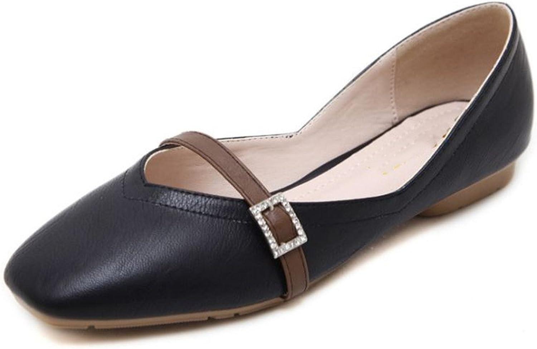 IINFINE Womens Classic Pointy Toe Ballet Flats Slip On Comfort Flat shoes