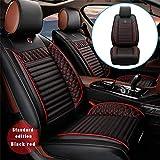 Protezioni Copriseggiolino Auto per G MC Terrain Compatibili con Il 95% di Automobili Set Coprisedili per Anteriori Auto Confortevole Nero Rosso