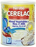 Nestle Cerelac Mixed Vegetables & Rice w/ Milk (Stage 2) - 400g