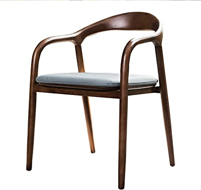Chair Solid Wood Legs Dining Chair Kitchen Dining Chair Back Dining Chair Lounge Living Room Reception Chair for Dining Room Living Room