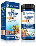 Stript Health 7-Way Aquarium Test Strips 100 Count - Easily Test Your...
