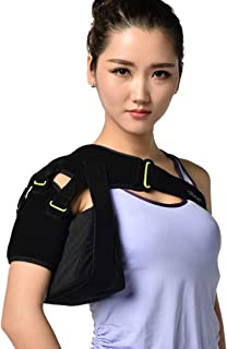 JM-Y Shoulder Support Brace for Women and Men - Adjustable Shoulder Sling Prevents & Promotes Healing from AC Sprains, Rotator Cuff Injuries & Moderate Separations