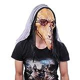 Halloween Horror Clown Ghost New horror Blood Skull Mask Bloody stitching Long beak latex mask punk Plague bird beak Mask