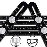 Multi Angle Measuring Ruler Template Tool - CrazyLynX Premium...
