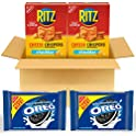 4-Pack OREO Original Flavor Chocolate Sandwich Cookies & RITZ Chips
