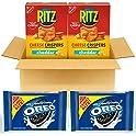 4-Pack OREO Original Flavor Chocolate Sandwich Cookies & RITZ Chips