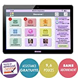 FACILOTAB Tablette L Rubis - WiFi - 16 Go - Android 8 - Marque Huawei - Interface...