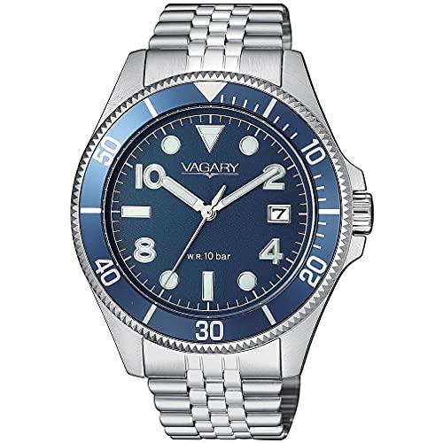 orologio solo tempo uomo Vagary By Citizen Aqua 39 casual cod. VD5-015-71