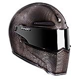 Bandit ECE 22-05 Alien II Casque de moto carbon/L L(59/60)