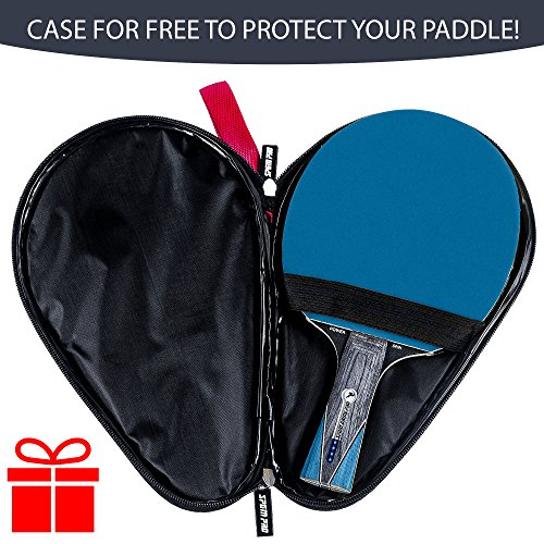 top rated table tennis paddles