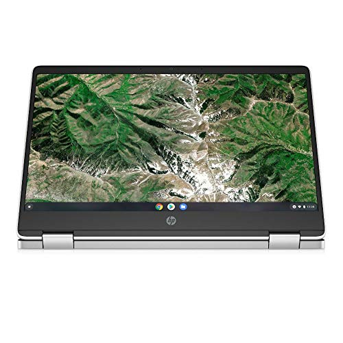 HP Chromebook x360 14a-ca0217ng (14 Zoll / HD Touch) 2in1 Convertible Laptop (Intel Celeron N4020, 4GB LPDDR4 RAM, 64GB eMMC, Intel UHD Grafik, Chrome OS, QWERTZ) weiß - 5