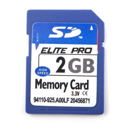 Tarjeta de memoria SD Storeinbox de alta velocidad, 2GB
